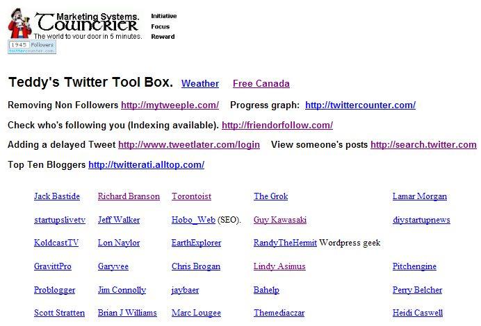 TwitterToolsSample